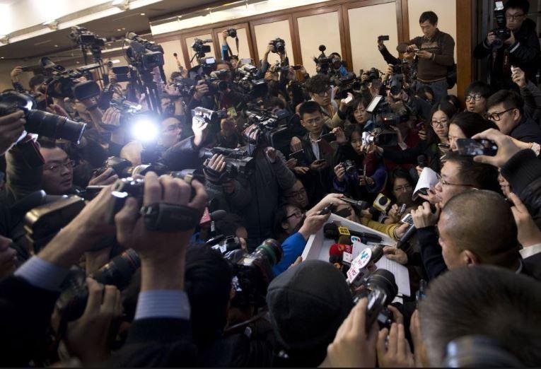MH370 Press conference, Kuala Lumpur